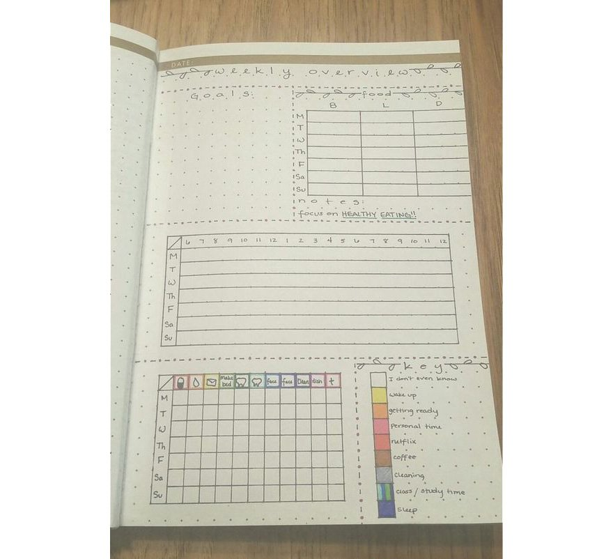 Grid Bullet Journal