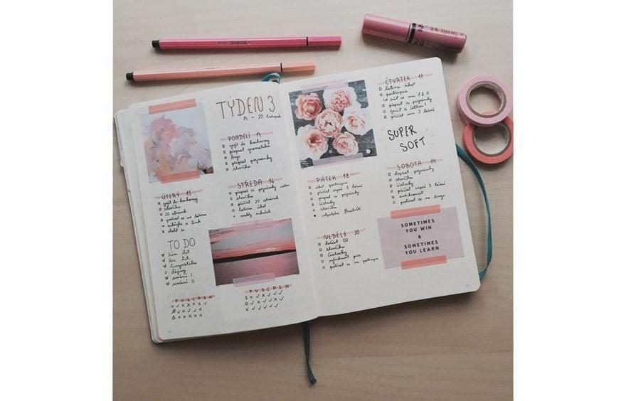 Inspiration Board Bullet Journal