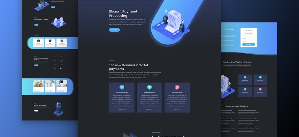 Impressive New Web Resource Ma Super >> Super Stylish And Unique Divi Layout Pack For Digital Payments