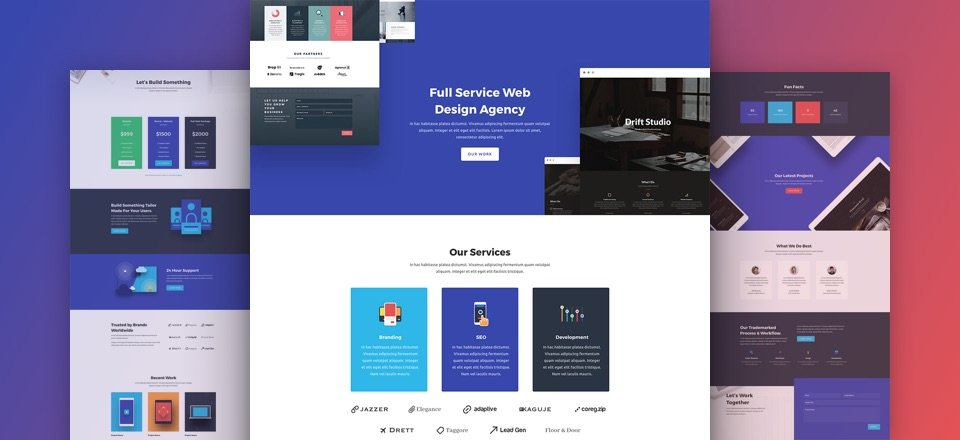 Download A Stunning Free Web Agency Divi Layout Pack Elegant Themes Blog