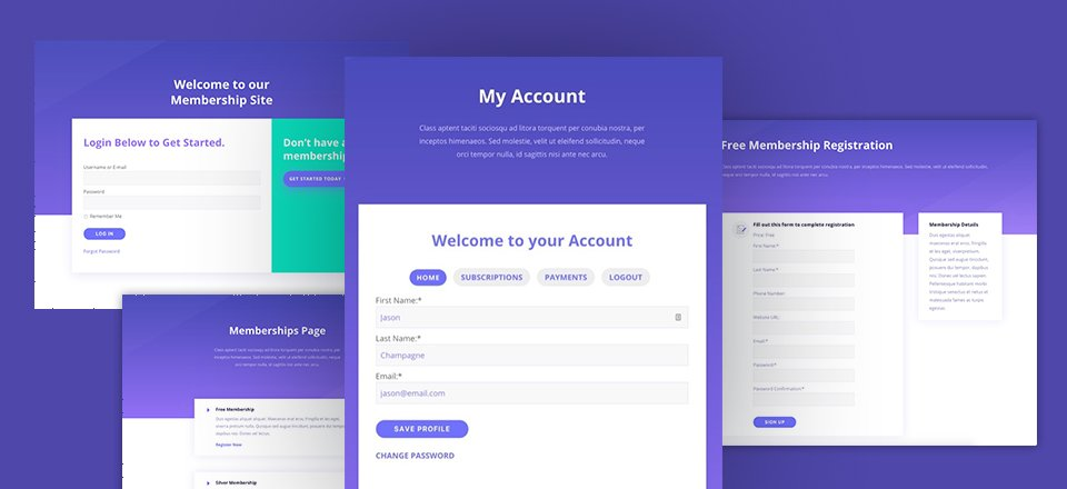How to Build a Membership Site with Divi – Part 1 | Elegant