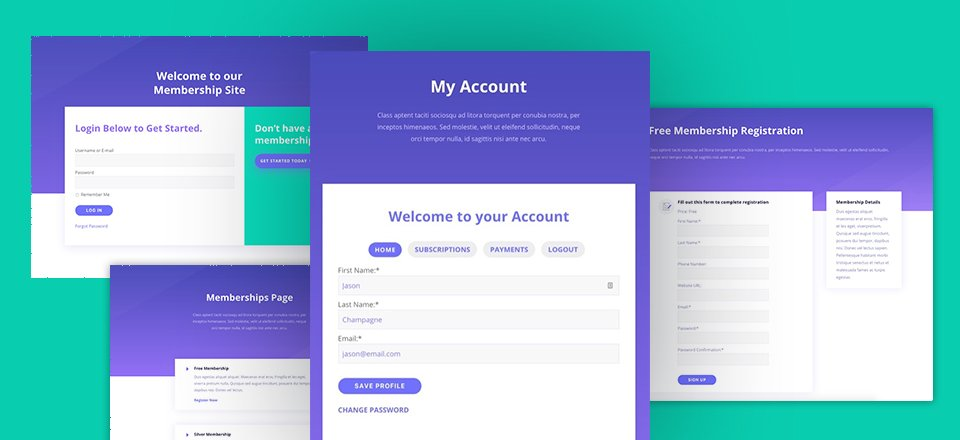 How to Build a Membership Site with Divi – Part 2