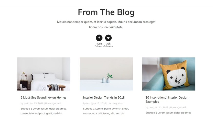 How To Make The Interior Design Layout Pack Social Media Ready With Divi Monarch Elegant