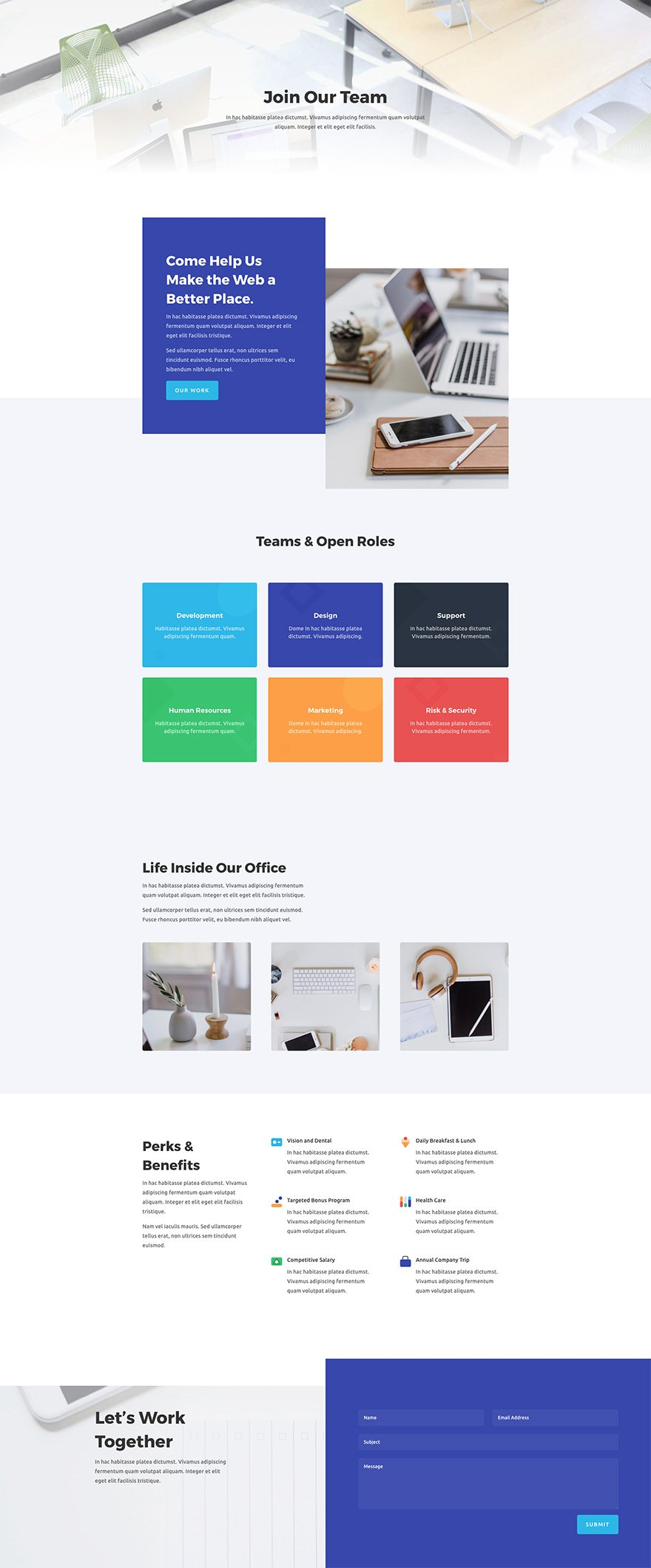 Download a Stunning Free Web Agency Divi Layout Pack