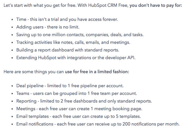hubspot best crm software