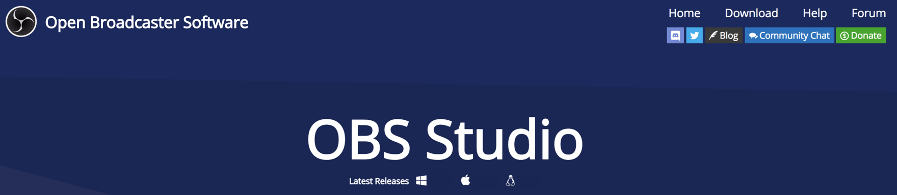 obs podcast software