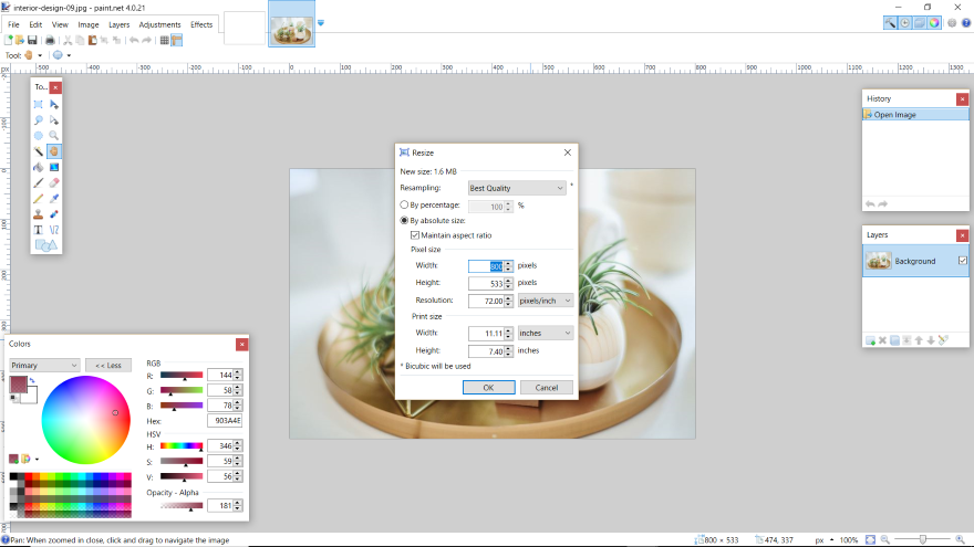 Paint NET: A Free and Simple Photoshop Alternative for Windows