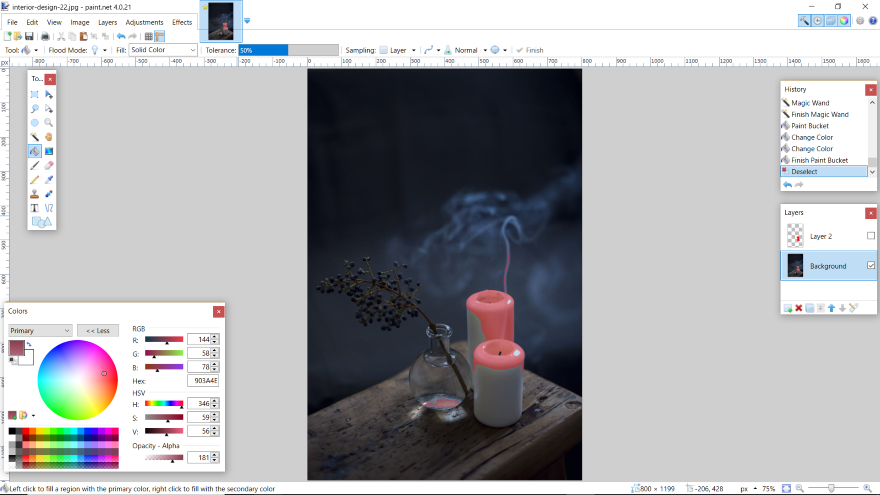 How To Make Paint Net Lasso Tool Like Photoshop
