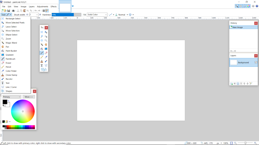 How To Resize Rectangle Selection In Paint Net