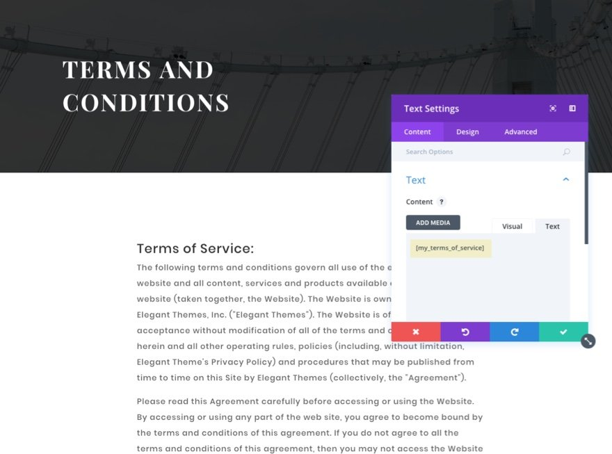 How To Require A Terms And Conditions Agreement On Your Contact Form
