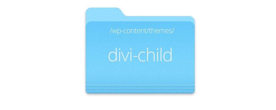 child theme folder