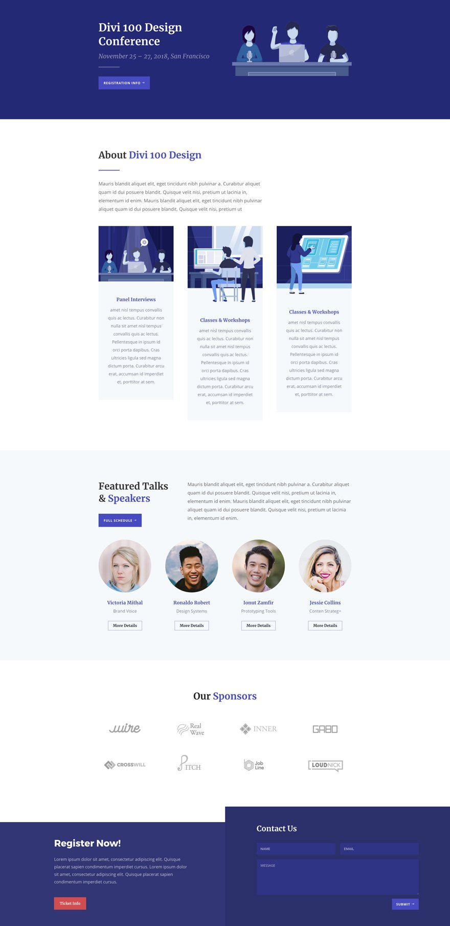 Get an Engaging Design Conference Divi Layout Pack for FREE ...