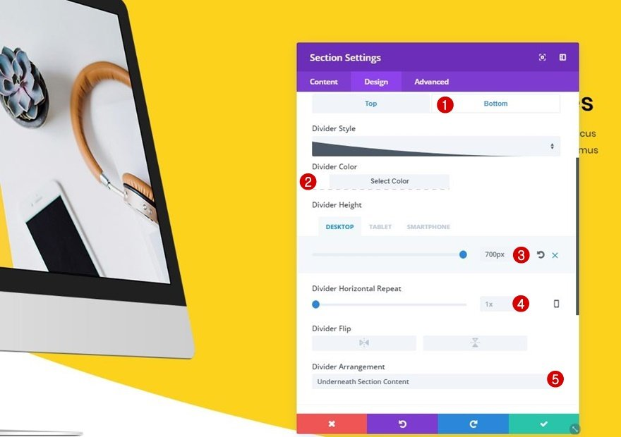 how to change list style type divi theme