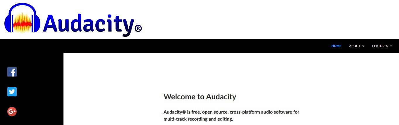 audacity best audio editing software