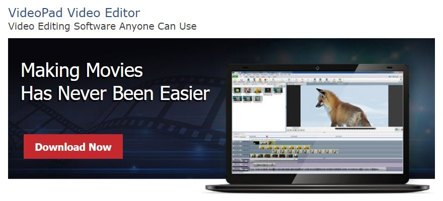 videopad best video editing software