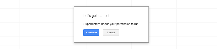 google sheets permission box