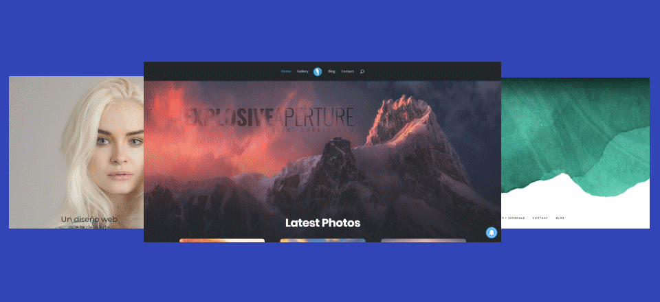 15 Divi Websites with Unconventional Header and Hero Designs