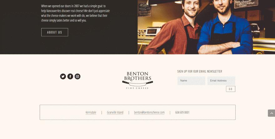 15 Divi Websites with Excellent Footer Design | Elegant