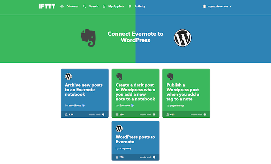 4 Ways You Can Use Evernote to Help Run Your WordPress Business