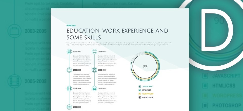 How to Design a Standout Work Experience section for Your Freelancer Site with Divi