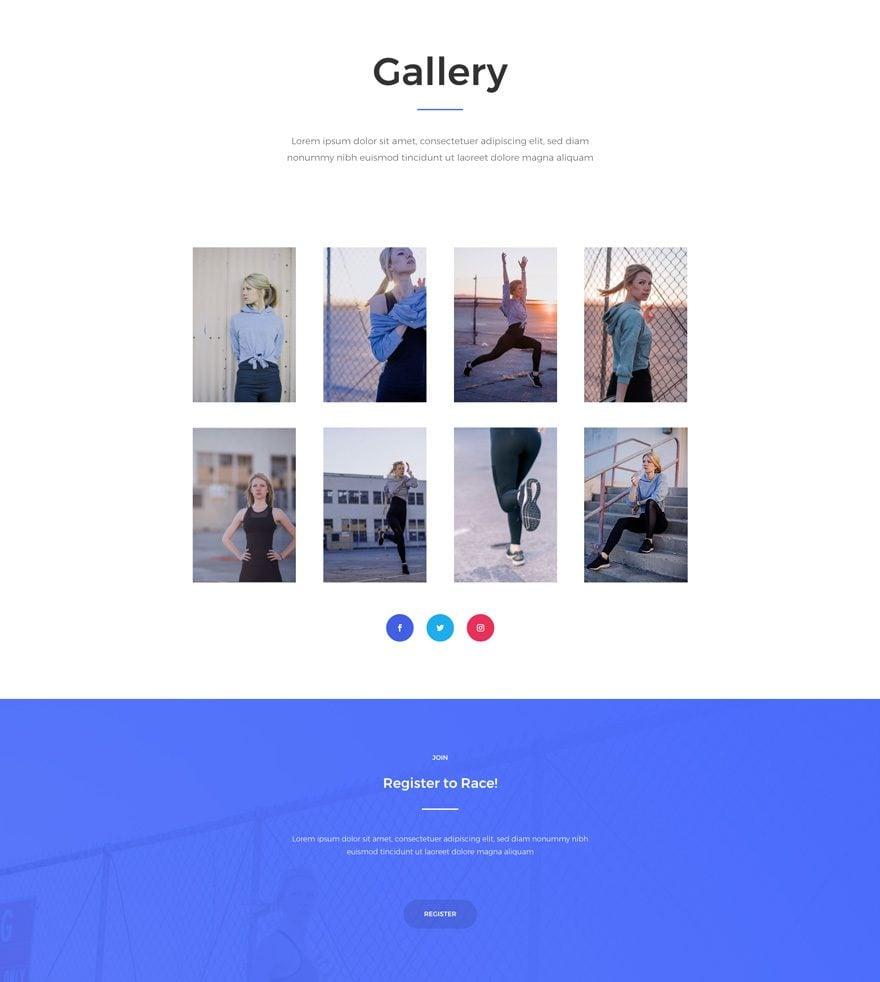 marathon gallery page