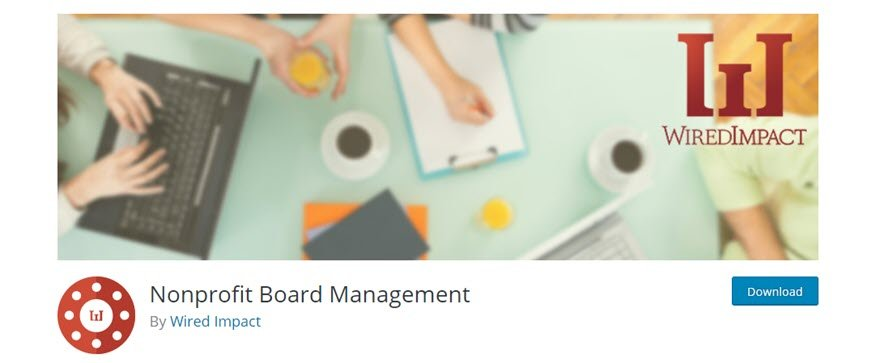 nonprofit board management and committee organization