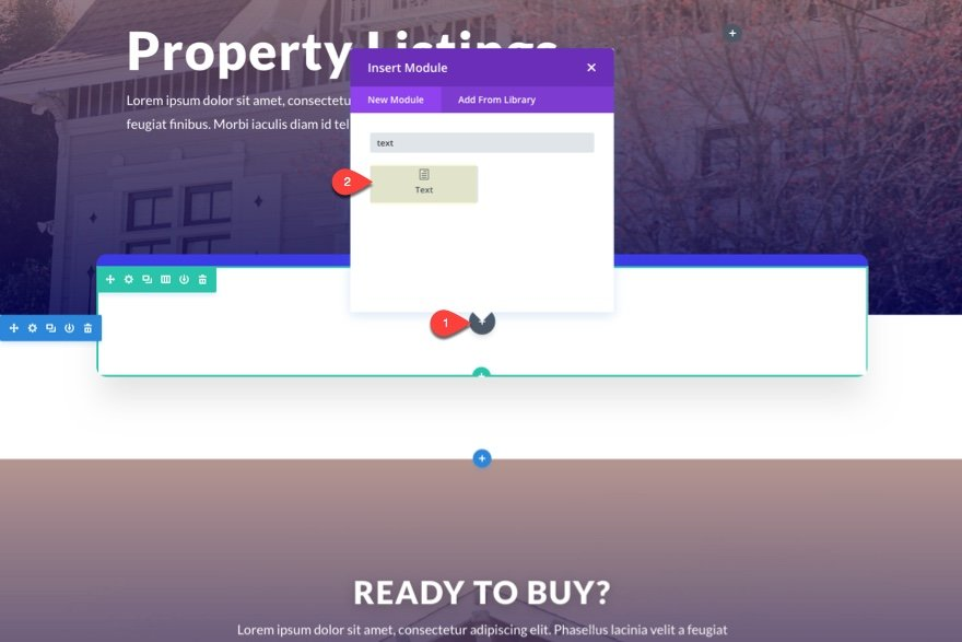 How to add real estate property listings to your website with divi elegant themes blog - Divi popup module ...