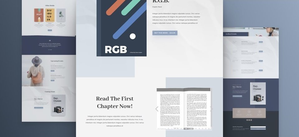 How to Add Book Previews to Divi's Author Layout Pack