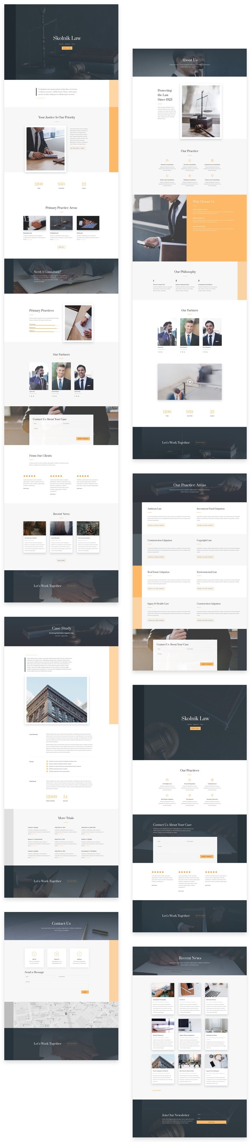 Get a Free Law Firm Layout Pack for Divi | Elegant Themes Blog