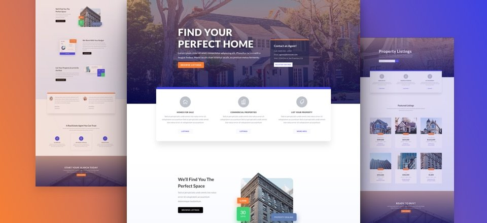 Get a FREE & Inviting Real Estate Layout Pack for Divi