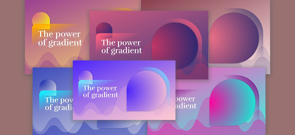 How to Create an Abstract Gradient Hero Section with Divi (6 Gradient Color Palettes!)