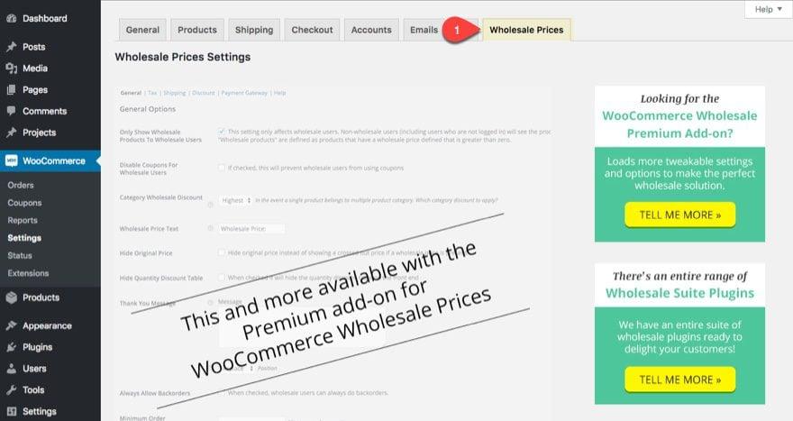 wholesale tab
