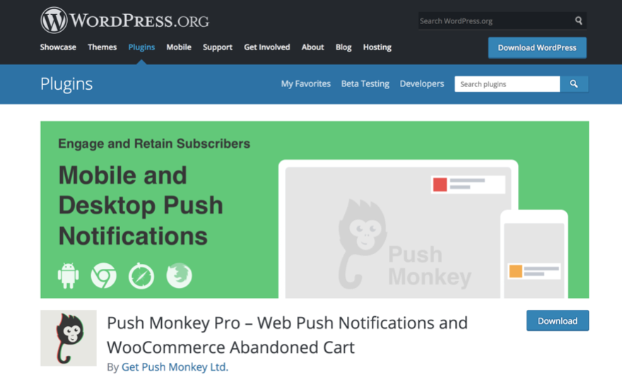 Push Monkey Notifications