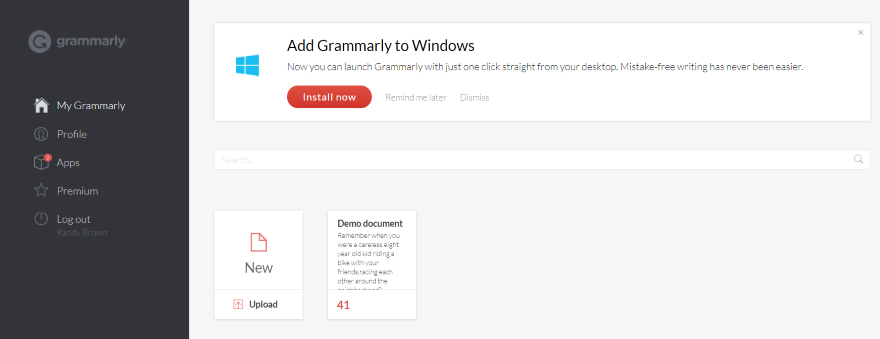 Installing the Grammarly Chrome Extension 8