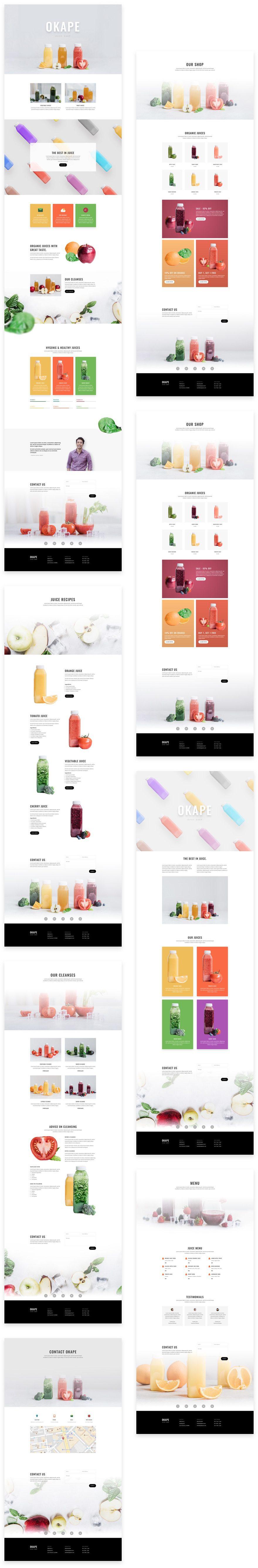 juice shop grid