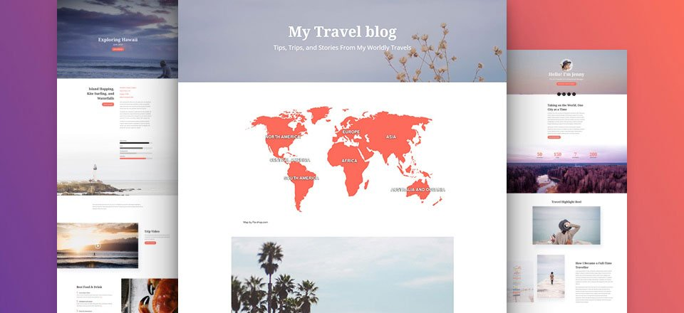 How to Add an Interactive Map to Divi's Travel Blog Layout Pack