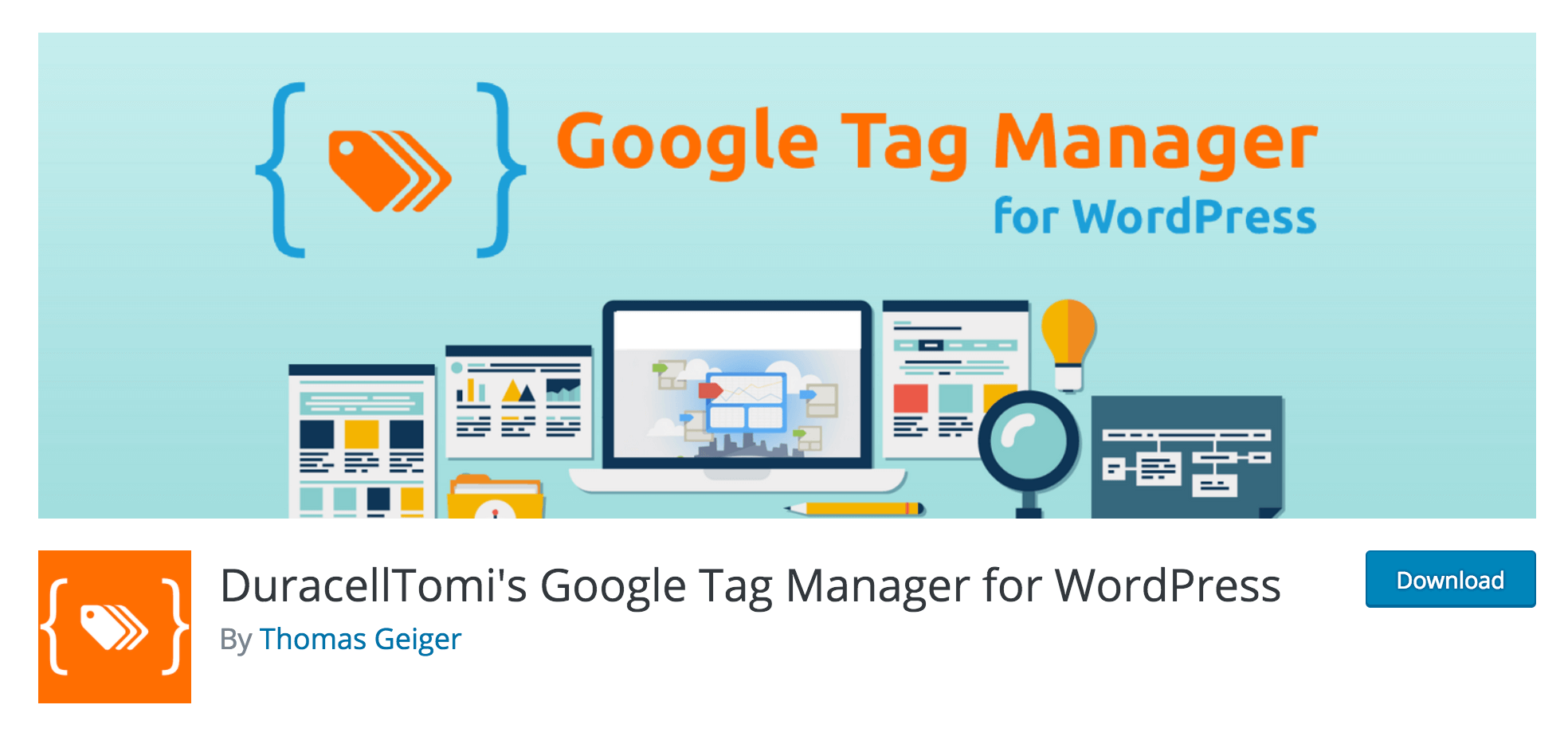 The DuracellTomi's Google Tag Manager plugin.