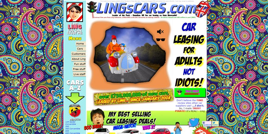 Hilariously Bad Web Design Examples