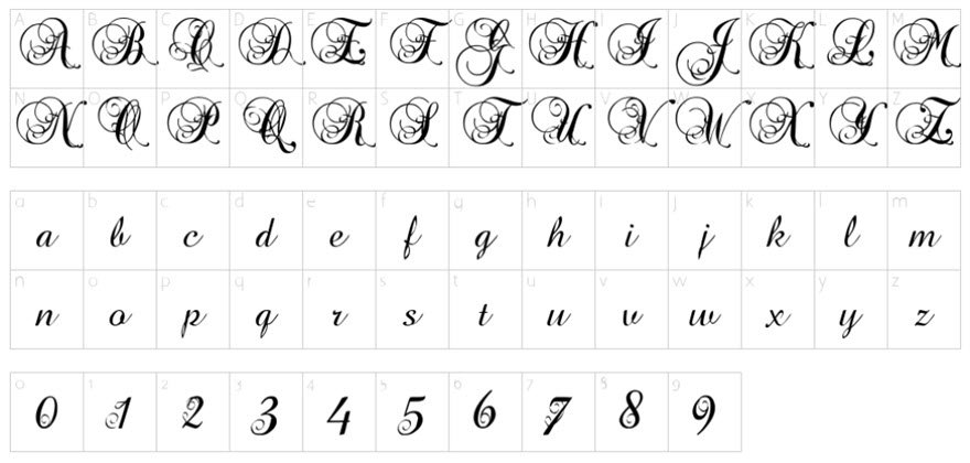 The Best Free Cursive Fonts