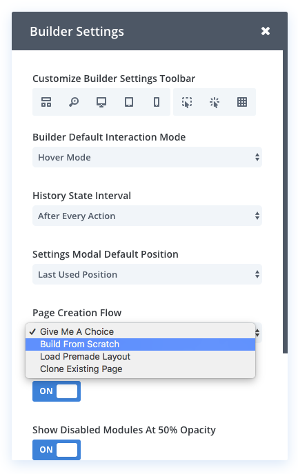 Divi Feature Update! The New Divi Builder Page Creation
