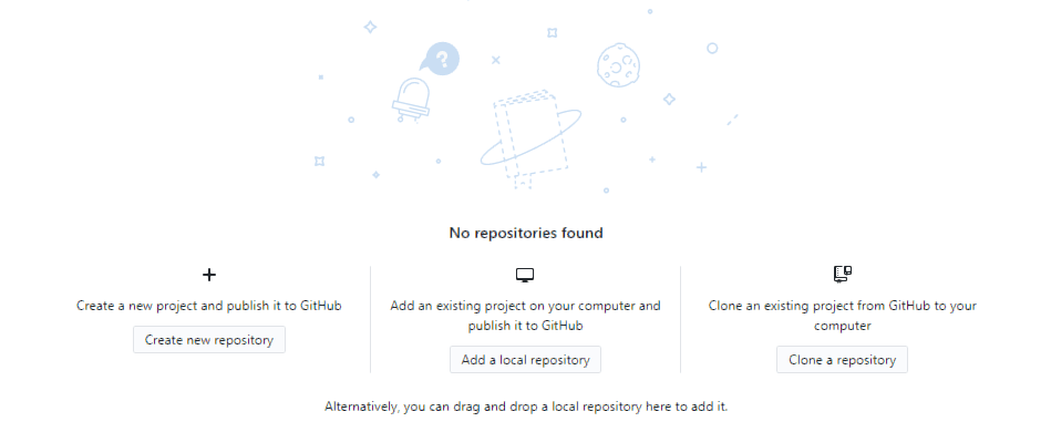 Adding a new repository to the GitHub app.