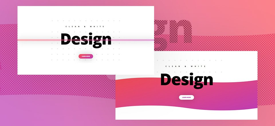 8 Techniques to Achieve Clean & Abstract Designs with Divi