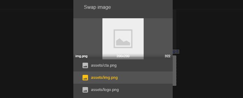 Swapping one of your ad's images.