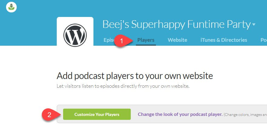 Buzzsprout Podcasting with WordPress