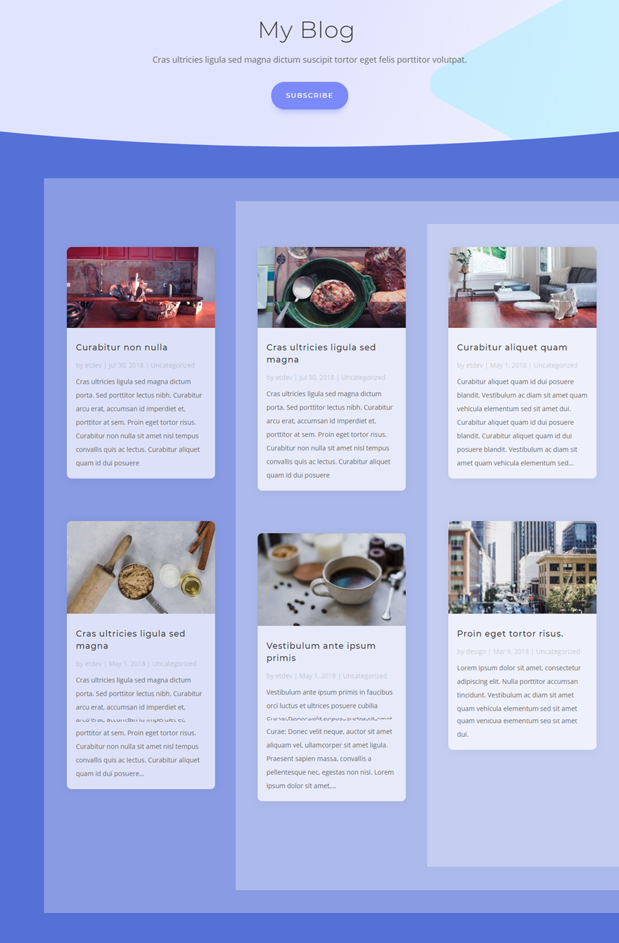blog grid layout