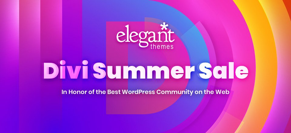 Surprise! The Divi Summer Sale Starts Now!