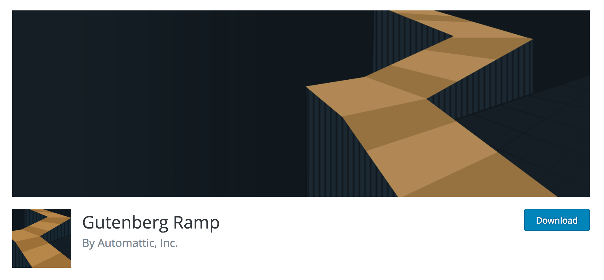The Gutenberg Ramp plugin.
