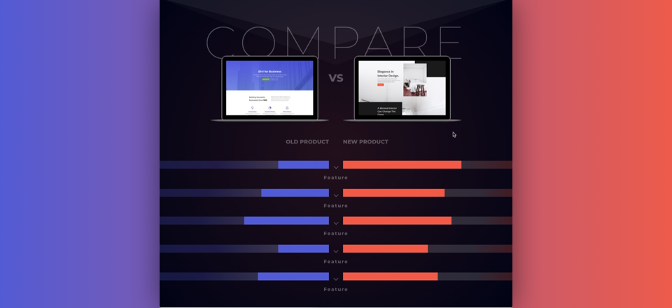 How to Design a Creative Product Comparison Chart with Divi