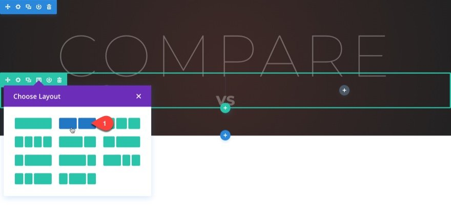 product comparison chart