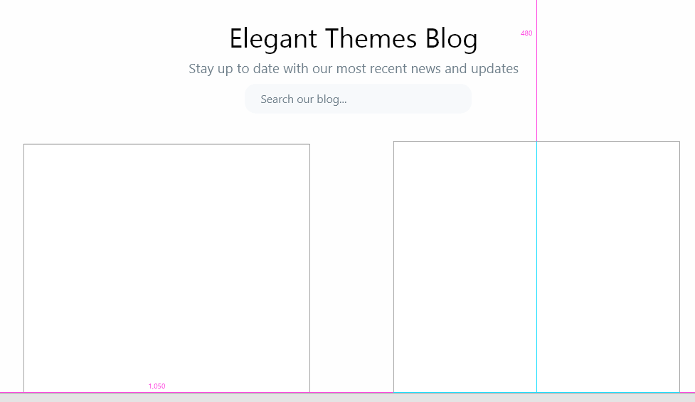 Adding rectangles to your mockup.